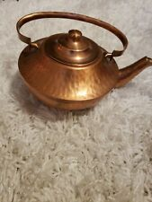 Vintage Gregorian Solid Copper Tea Kettle