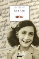 IL Diario di Anne Frank Crescere Ediz. LIBRO NUOVO - Anna Frank