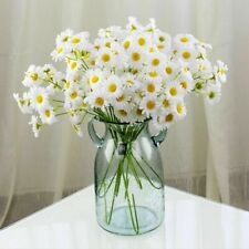 1 Bouquet Artificial Daisy Fake Flowers Small Daisy Wedding Fairy Home Decor
