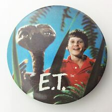 1982 ET Extra Terrestrial Universal Movie Promotional Pinback Button Badge G794