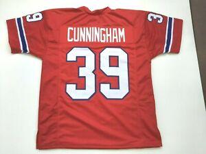 UNSIGNED CUSTOM Sewn Stitched Sam Cunningham Red Jersey  M, L, XL, 2XL