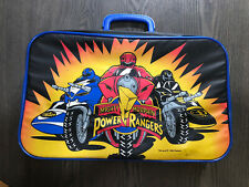 1993 Mighty Morphin Power Rangers Suitcase /Luggage Bag - Vintage Saban