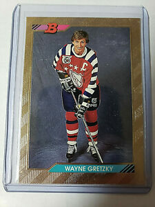Wayne Gretzky Foil 1992-93 Bowman