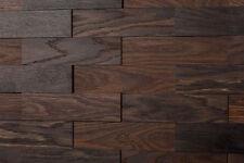 3D Wandverkleidung Holz wodewa | EICHE tabak | Holzwand Paneele Wandgestaltung