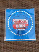 NOS Blue Suntour Chain Wheel Ring Old School BMX 42T Cruiser