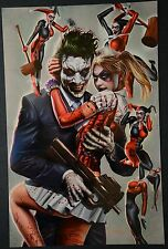 Joker Harley Quinn Signed Greg Horn Print