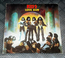 Kiss 'Love Gun' First Press West German '77 Original Vinyl Record LP Rare Gene