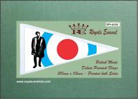 Royale Antenna Pennant Flag - JIMMY THE WHO QUADROPHENIA MOD - FP1.0133