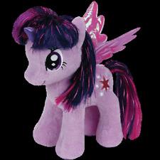 """( TWILIGHT SPARKLE ) - My Little Pony - TY Beanie Babies - 7"""" Plush - New w/ Tag"""
