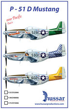 P-51D Mustang 1/48 scale 48006 Hussar Productions decals