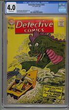 DETECTIVE COMICS #252 CGC 4.0 BATMAN
