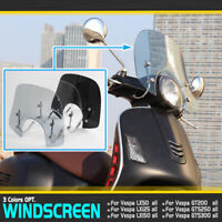 Windshield Windscreen for Piaggio Vespa LX 50 125 50 GT 200 GTS 250 300
