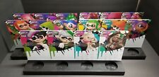 Splatoon Amiibo Stands Complete Set