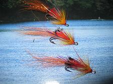 3 V Fly Size 11 Cascade Piglet Double Salmon Flies