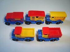 VINTAGE TRANSPORT VEHICLES 1986 MODEL CARS COMPLETE SET 1:87 - KINDER SURPRISE