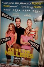 Cinema Banner: WE'RE THE MILLERS 2013 Jennifer Aniston Emma Roberts