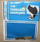 "GOLDBERG 359 1/16"" THREADED COUPLERS (2)"