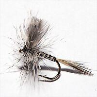 6 les mouches California Moustique Fishing Flies ~ Taille 16 ~ SIX