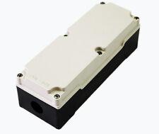 CAST ALUMINUM PUSH BUTTON BOX ENCLOSURE- IVORY/BLACK