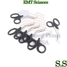 6 Black Emt Trauma Paramedic Bandage Shears Ems Scissors 75