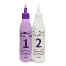 (First 150ml + Second 150ml) Nornza Wave Perm Bacillus Soybean Fermentation Care