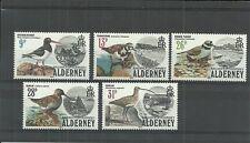Birds Alderney Regional Stamp Issues