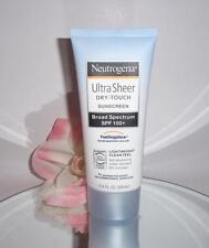 Neutrogena Ultra Sheer Dry Touch Sunscreen Broad Spectrum Spf 100+ 3oz