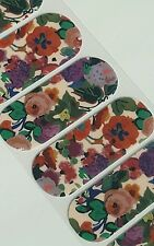 Jamberry MIDWAY FLORAL, 1/2 sheet