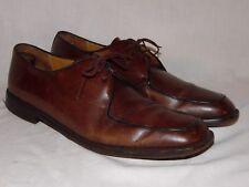 Mezlan Farina Men's Brown Dress Shoes Leather Oxford Apron Toe Size 13