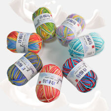 50g Soft Knitting wool Crochet wool colorful combing Milk cotton Yarn 30 colors