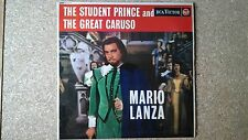 THE STUDENT PRINCE AND THE GREAT CARUSO - MARIO LANZA - SOUNDTRACK