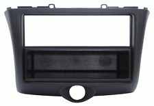Mask with Hole Iso/Double Iso/Double DIN Black Toyota Yaris 03 > 06