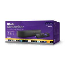 Roku Streambar HDR4K HD TVStreaming Media Player Soundbar Netflix Disney+ App