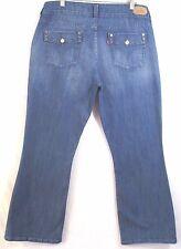Levi's 526 Jeans Misses Size 12 S/C Slender Boot Cut Stretch Denim Inseam 29