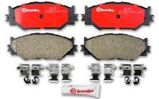 Disc Brake Pad Set-Premium NAO Ceramic OE Equivalent Pad Front fits 06-08 IS250