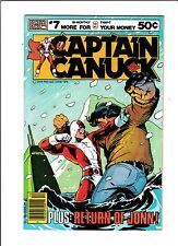 "Captain Canuck No.7  : 1979 :   : ""Return Of Jonn!"" :"