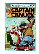 """Captain Canuck No.7  : 1979 :   : """"Return Of Jonn!"""" :"""
