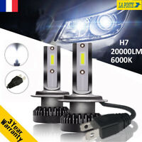 110W 20000LM H7 CREE LED Ampoule Voiture Feux Lampe Kit Phare Xenon Blanc 6000K