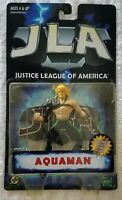 JUSTICE LEAGUE OF AMERICA AQUAMAN WITH JLA COLLECTOR DISPLAY STAND
