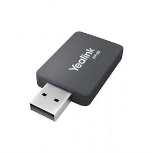 NEW Yealink WF50 Wireless USB Wi-Fi Adapter, Dual Band 802.11ac 2.4GHz 5GHz