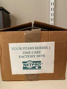NEW 1991 NETPRO Tour Star Series 1 Factory Set Case (20 Boxes), Read Description