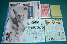 Tamiya F-16CJ (Block 50) Fighting Falcon 1/32 Decals Inst. Color Guide Masks RBF