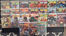 IRON MAN Vol.3 Heroes Reborn 24 Issue comic lot, #1 SIGNED by Busiek, Avengers