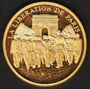 Médaille LA LIBERATION DE PARIS / HISTOIRE DE FRANCE / DE GAULLE - FRANCE