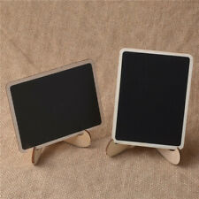 Mini Message Blackboard Chalkboards With White Board Cleaner and Pen