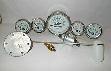 Gauges Kit- 85 mm Speedometer+Elec Temp+Oil +Fuel+ Volt + Senders/ Sending unit