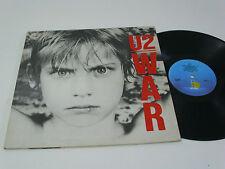 U2 War - PORTUGAL LP -  DACAPO 3rd release - NO  ® on labels