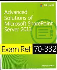 Exam Ref 70-332 Advanced Solutions of Microsoft SharePoint Server 2013 (MCSE), D