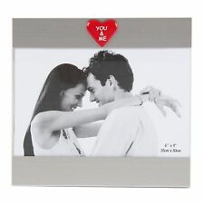 Glass Photo Frame You & Me Great Romantic Love Gift Ideas For Her & Him