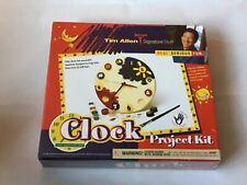 "Tim Allen Signature Stuff ""Clock Project Kit"" New DIY Clock Kids Gift Craft"